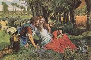 William Holman Hunt The Hireling Shepherd (mk09) oil painting picture wholesale